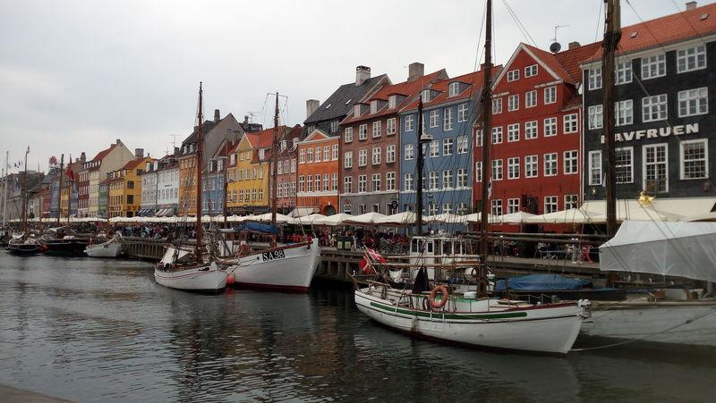 Nautical Vessel Water Nihaven Copenhagen