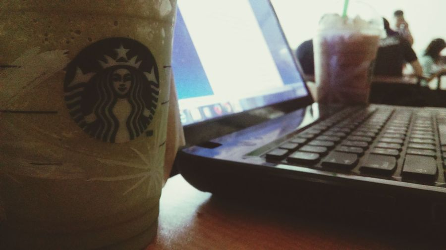 GreenTeaFrapp With Busy Time