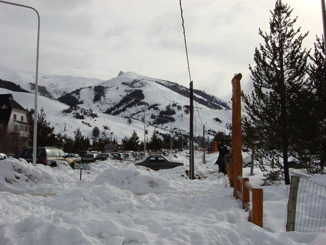 Beauty In Nature Cold Temperature Day Landscape Mountain Nature No People Outdoors Scenics Ski Lift Sky Snow Tree Weather Winter