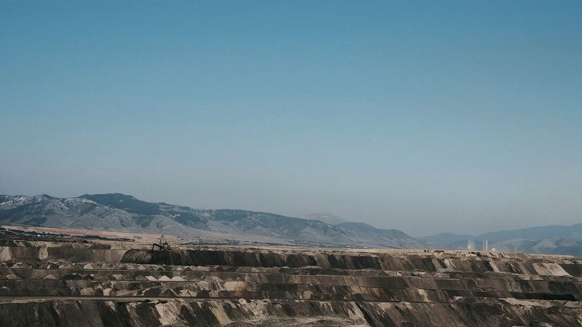 more Coal needed 1 Open Cast Mining Industrial Landscapes Brown Tones Landscape_Collection Wideopenspaces Wide-angle in Kozani Greece