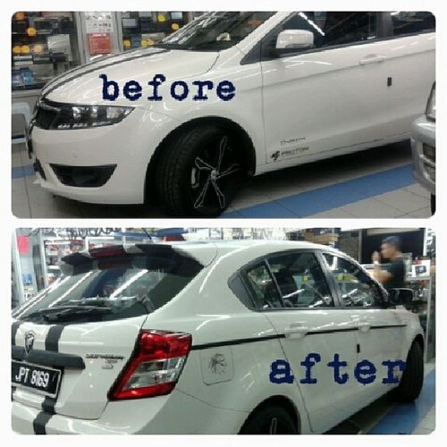 2nd makeover....side line highlighted Proton SuprimaS Lotusengine MyMRScar herdesignnotbadterkopakduitsangsuamimfarokomar