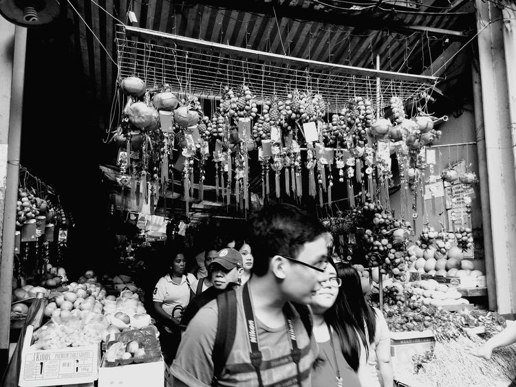 Title: lucky fruit? date/location:02192015/binondo Flash:off Scenefilter:bw Camera:zenfone5/pxlmaster Under Pressure Kung Hei Fat Choi Eyeem Philippines Zenfone5