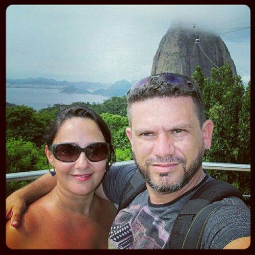 Eu e @roselydearaujo viajando com a TAM TAMFoto