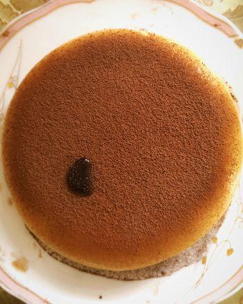 Thạch rau câu tự làm. Chấm đen đen kia là socola đấy, tự nhiên bị lem vào :3 DIY Jelly Chocolate♡ Passion Kakao ♥