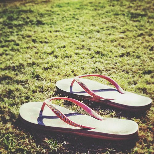 Laze up Shoe Grass Pair Things That Go Together No People Day Outdoors Fashion Green Color Close-up Flipflops Fashion Photography The Secret Spaces Outdoor Photography Lazyafternoon Lazyshutters Calm Idlehour Randomclicks Green Grass 🌱 Wasted Wednesday StillLifePhotography Stillness In Time