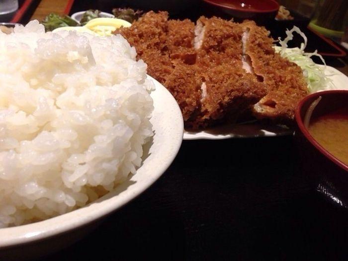 ビッグチキンカツ定食 ご飯500g