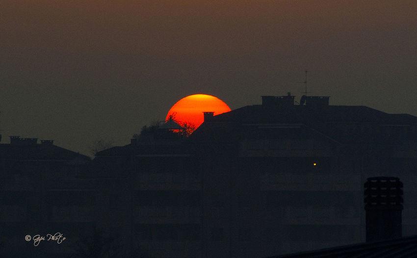 Sunset Sunrise Sun Outdoors Night
