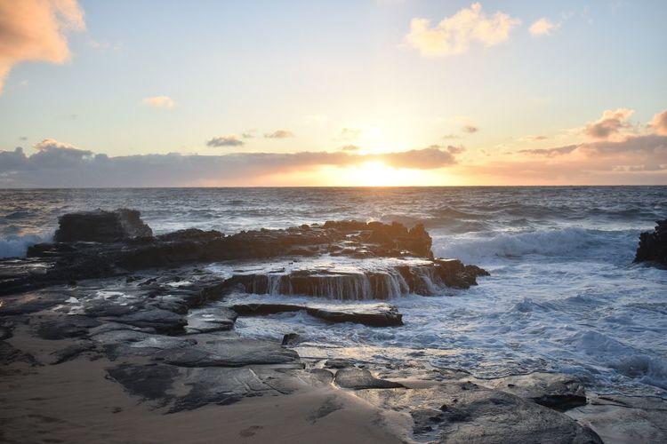 Hikina a ka lā *Rising Sun* Sea Sunset first eyeem photo