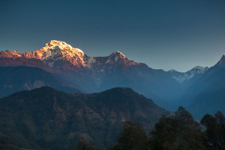 Just as the sunrise falls gently upon the tip of Mt. Annapurna Taking Photos Wanderlust Wandering Travel Photography Travel Destinations Nepal Travel Nepal_himalayan_kingdom Nepal8thwonder Nepal #travel Wanderer Travelingishappiness  TravelingIsFun