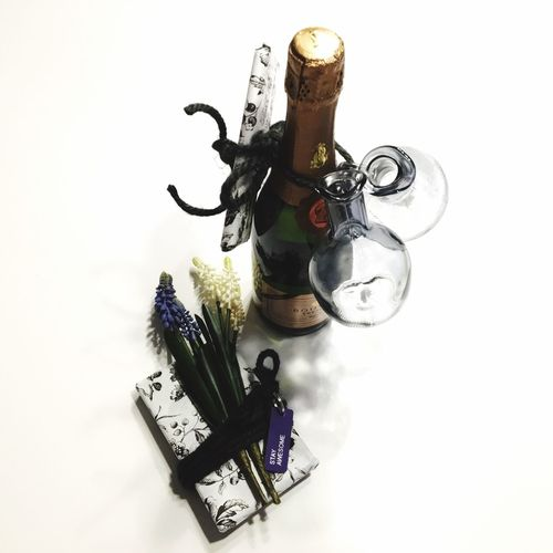 Flowers Gift Bottle Crémant Style Spring