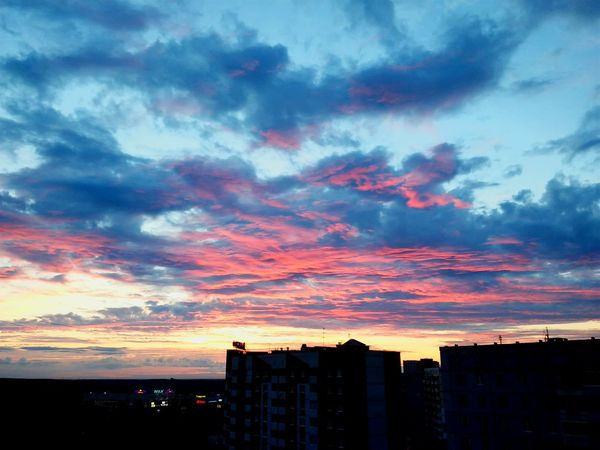 My First Photo Sunset Rosesky Summerdays  First Eyeem Photo