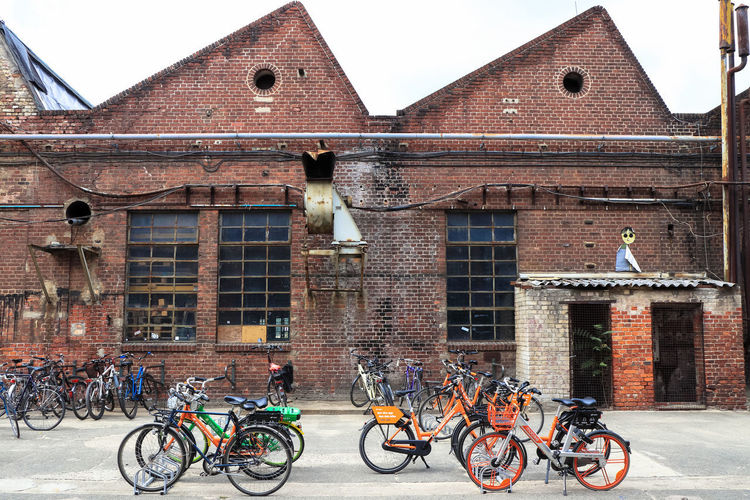 Berlin Berlin Photography Architecture Bicycle Building Exterior Built Structure Canon Canon M5 Canon_official Canonphotography City Day Mode Of Transportation No People Outdoors Transportation