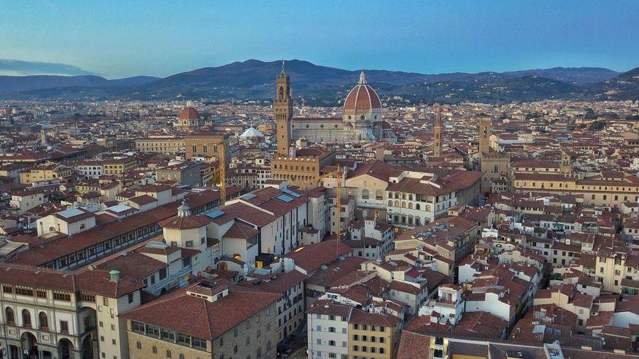 Duomo santa maria del fiore amidst cityscape