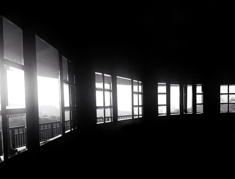 Window Indoors  Architecture Black And White Friday