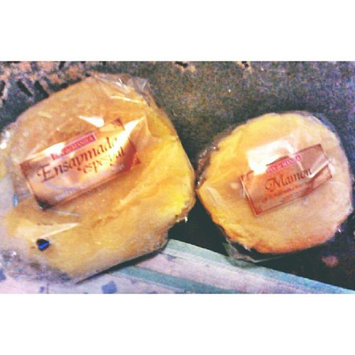 Ensaymada for daddy. Mamon for andy. Pandemanila