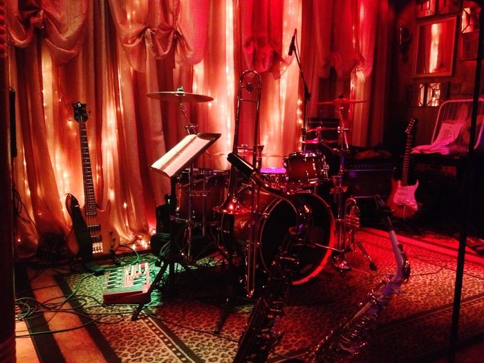 'Drum kit ready