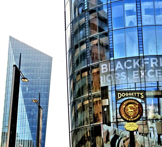 Architecture Blackfriars Glass Building Gwindows London London Architechture Lopsided Slanted Street Lamp Street Lights At Sunset The Architect - 2017 EyeEm Awards
