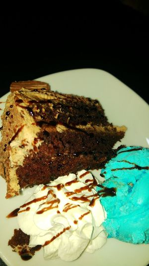 Flake cake with