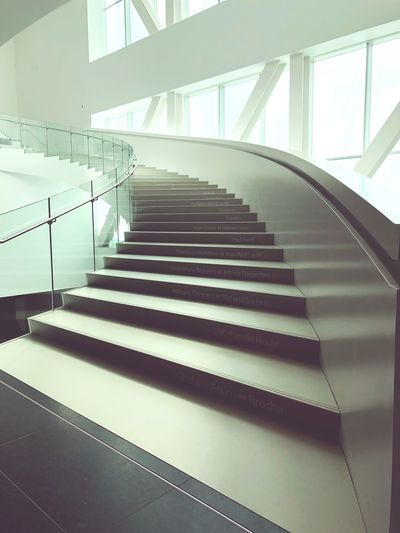 Staircase Steps And Staircases Indoors  Steps Railing Built Structure Architecture No People Day