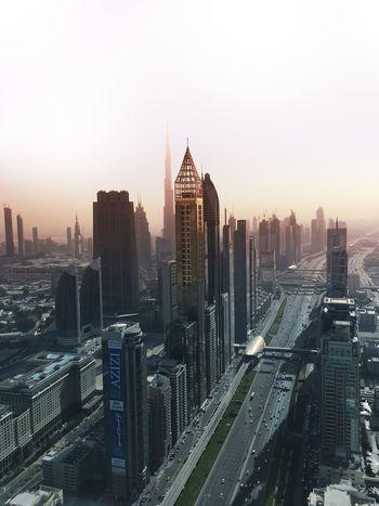 Dubai Burj Khalifa Skyscrapers