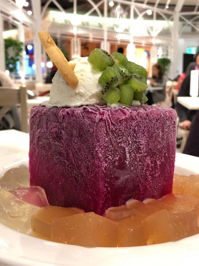 Sweets Taipei Taiwan Red Dragon Fruit Pitaya Food And Drink Food Sweet Food Ice Cream Frozen Food Dessert Food Stories
