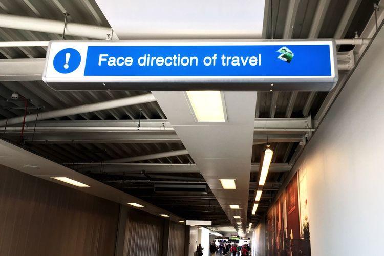 On The Way Der Weg Ist Das Ziel Traveling Airport The Journey Is The Destination
