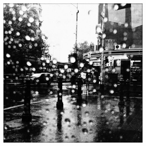 Rainy Days On The Road Hipstamatic