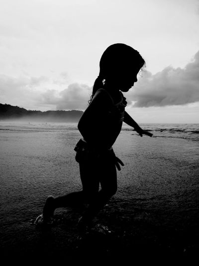 Cami Child People Water One Person Vacations Happiness Beach Girls Children Only Jaco  Jacó beach Costa Rica Costa Rica❤
