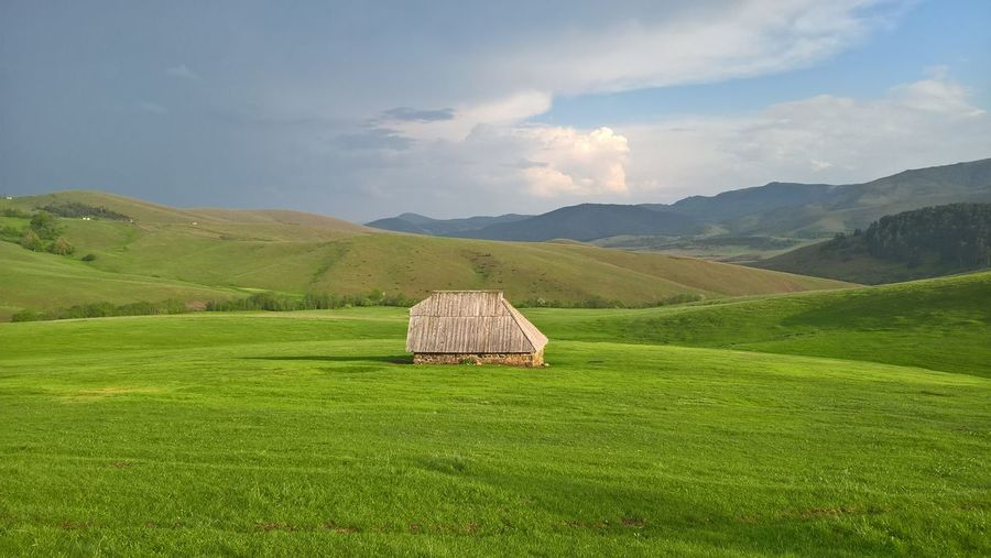 Beauty In Nature Grass Landscape No People Outdoors Rural Scene Scenics - Nature Tranquility