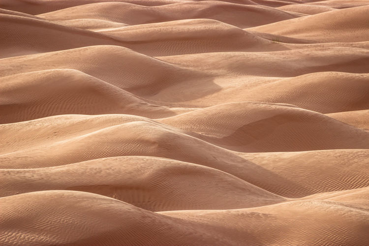 Waves of sand Backgrounds Full Frame No People Pattern Textile Crumpled Climate Sand Dune Arid Climate Desert Textured  Bed Sand Day Furniture Scenics - Nature Land High Angle View Nature Natural Pattern Softness Sahara Desert Tunisia Wave 2018 In One Photograph My Best Photo