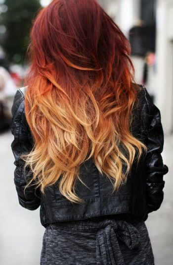 *-* Wannahave Perfect Hair Ombre Red To Blond