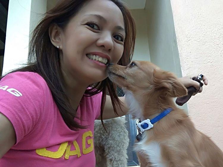 Millennial Pink Mobile Photography Mobileglobalshooters Selfie ✌ Petselfie Kiss Me Like You Miss Me