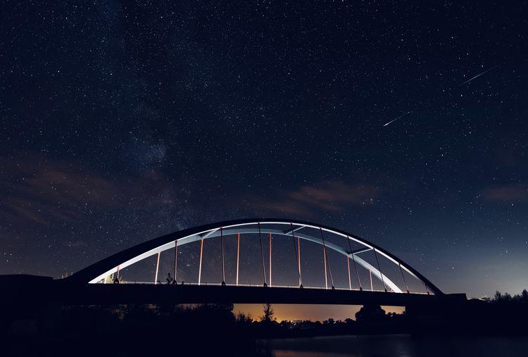 Bridge Star - Space Night Astronomy Space Sky Scenics - Nature Galaxy