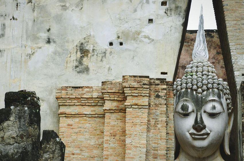 No People Religion Statue Day Cultures Budhism Budhist Temple Thailand Sukhothaihistoricalpark Sukhothai Historical Park AMPt_community EyeEm Masterclass Eye4photography  Shootermag
