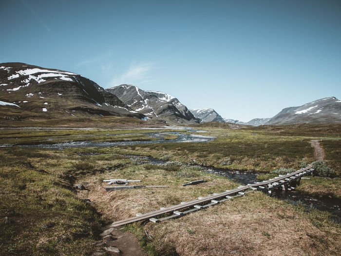 Fjällräven Landscape_Collection Lappland Travel Beauty In Nature Day Europe Fjäll Landscape Mountain Mountain Range Nature No People Outdoors Scenery Scenics Sky Sweet Food