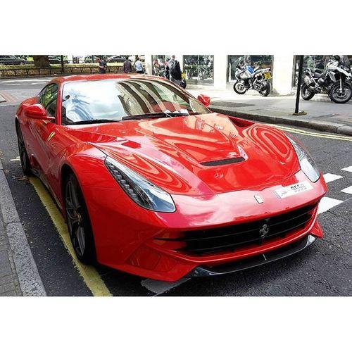 The perks of London Ferrari F12 Berlinetta