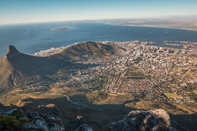 City of Cape town Cape Town Cape Town, South Africa Cape Town Beauty South Africa South Africa 🇿🇦 Architecture Sea Water Building Exterior Nature City Beauty In Nature Scenics - Nature High Angle View Day Aerial View Mountain Cityscape No People Sky Tranquil Scene Built Structure Outdoors Rock