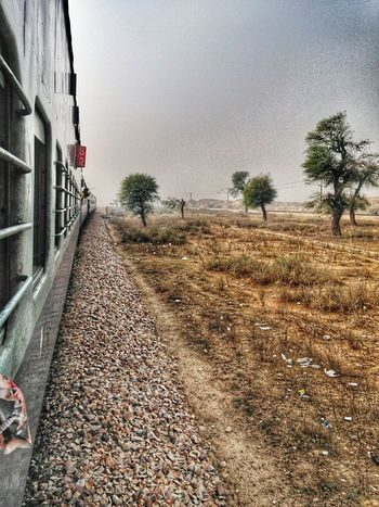 The Way Forward Train Transportation Outdoors Indianrailways EyeEmNewHere Train View Travel In The Middle Of Nowhere Be. Ready. An Eye For Travel