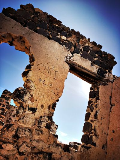#Ghost town Old Ruin History Arch The Past
