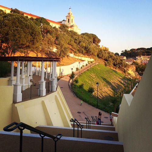 Photorv Public Garden Lisbon Lisboa Park Mouraria Graça