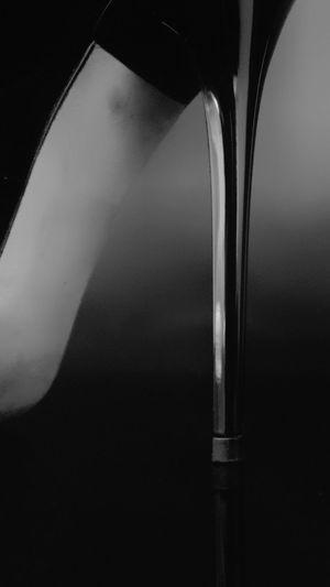 No People Close-up Indoors  Elégance Shoe Black Black Shoes High Heels Still Life Detail Heels Heel Varnish Varnish Shoe Black And White Blackandwhite Fashion Extraordinary  Luxury High Quality Jimmychoo Jimmy Choo Fashion&love&beauty Beauty Style Visual Creativity