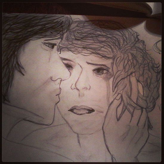 My Pseudo Larry Old picture ugly i love louiss hand