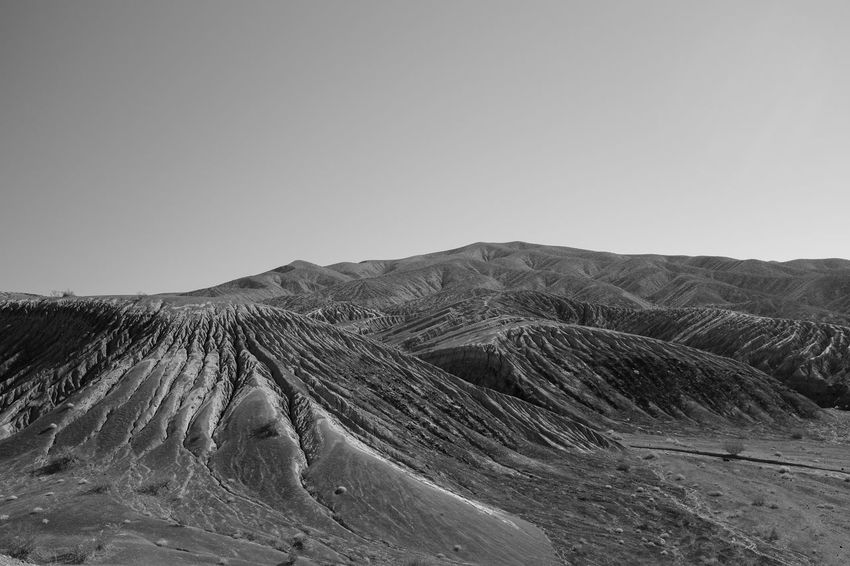 Environment Scenics - Nature Tranquil Scene No People Tranquility Beauty In Nature Land Non-urban Scene Outdoors Clear Sky Desert Desert Beauty Crater Volcano Volcanic Landscape Space Space Exploration Lunar Lunar Landscape Surreal Unreal Blackandwhite Black And White