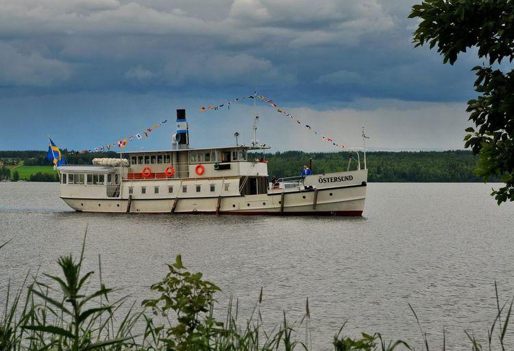 Mode Of Transport Water Transportation S/s östersund Hara Hara ångbåtsbrygga Sweden Jamtland Storsjön Steamboat ångbåt
