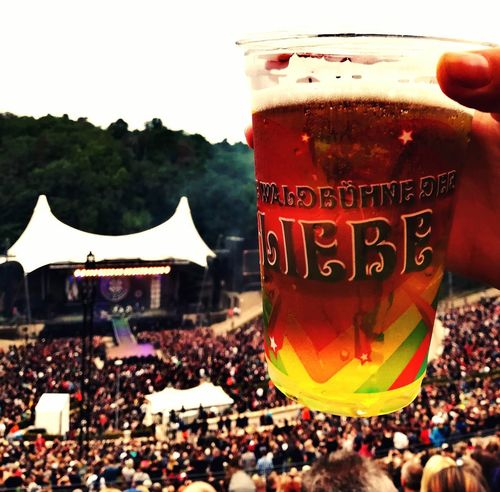 beer love music Waldbühne Sunlight Beer Vintage Crowd City Fan - Enthusiast Popular Music Concert Drink Human Hand Drinking Glass Alcohol Arts Culture And Entertainment Togetherness Music Concert Live Event EyeEmNewHere