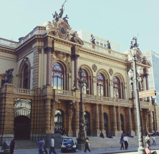 Theatro Municipal De São Paulo Teatro Architecture Operahouse