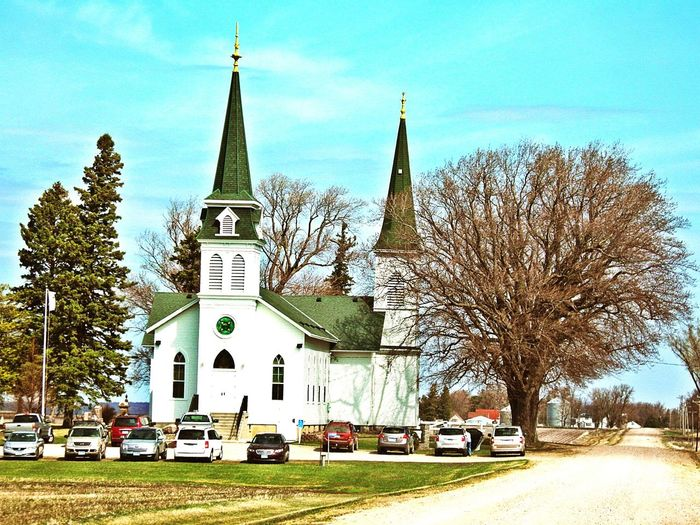 Country Road Minnesotalife Going To Church  In A Country Churchyard Country Church