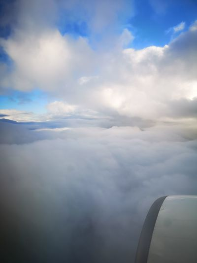 Traveling around the world 🌎✈️🗺️ Airplane Flying Commercial Airplane Air Vehicle Aerospace Industry Aircraft Wing Journey Aerial View Cloudscape Sky Plane Sky Only Cumulonimbus Heaven Cumulus Cloud Turbine