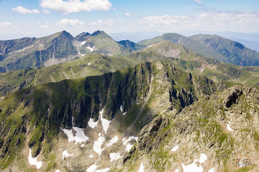 Peak Negoiu, Transylvania Beauty In Nature Cloud - Sky Day Landscape Mountain Mountain Range Nature No People Outdoors Scenics Sky Tranquil Scene Tranquility