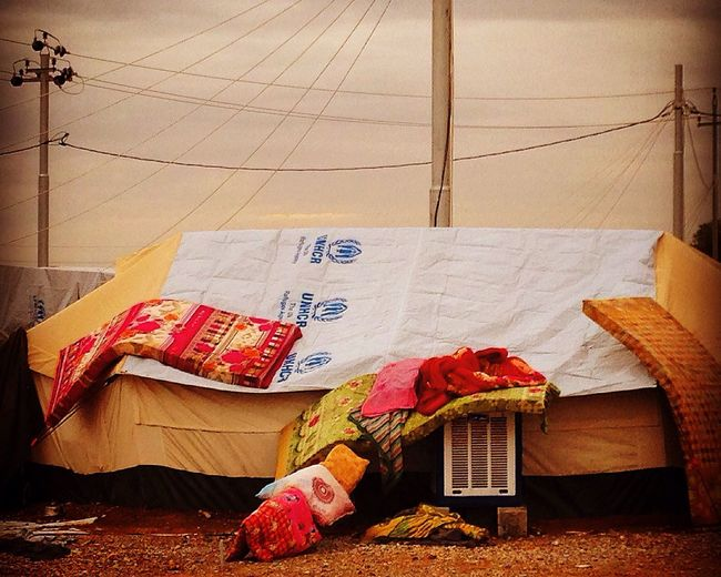 Lines Displacement IDP Camp War Conflict Resilience  United Nations Hope Loss Conflict Landscape Kurdistan Iraq